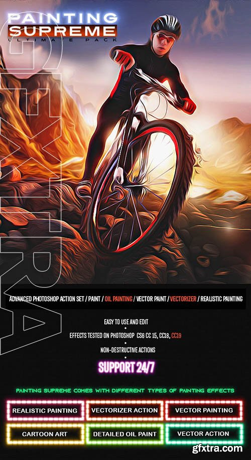 GraphicRiver - Supreme Painting Photoshop Actions 24884912