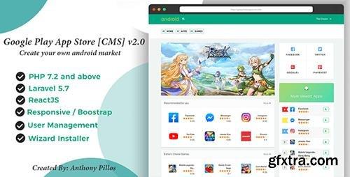 CodeCanyon - Google Play App Store [CMS] 2.0.4 - 20614679
