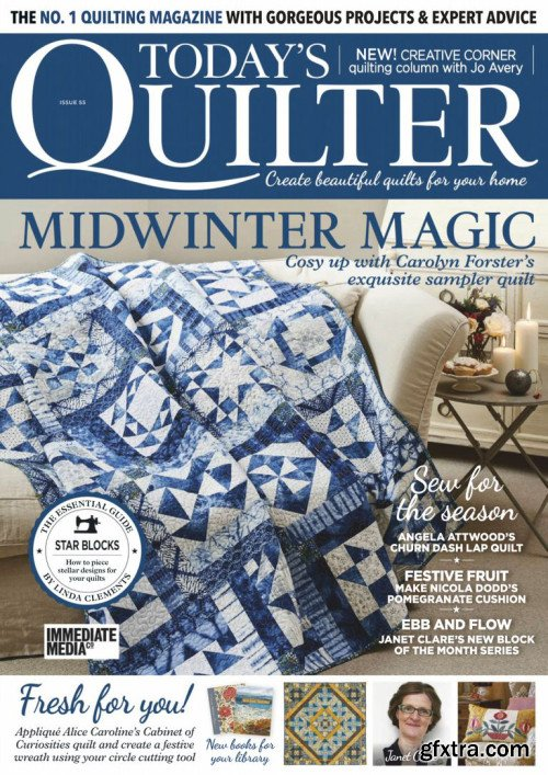 Today\'s Quilter - Issue 55, 2019