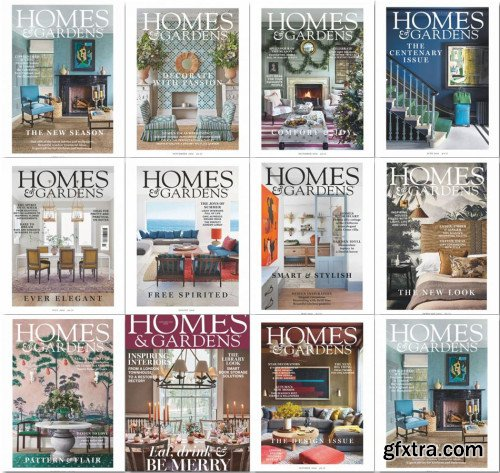 Homes & Gardens UK - 2019 Full Year Issues Collection