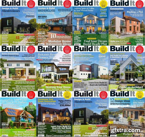 Build It - 2019 Full Year Issues Collection