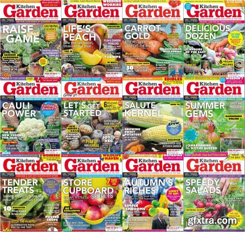 Kitchen Garden - 2019 Full Year Issues Collection