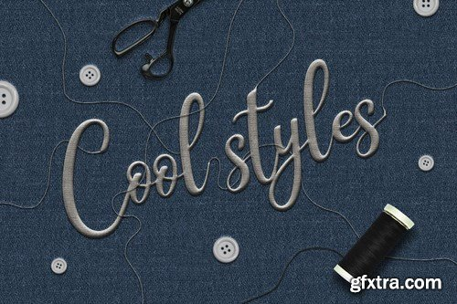 GraphicRiver - Fabric Text Effects 24844852