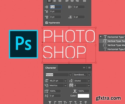 Adobe Photoshop Working with Text Workshop by Andrey Zhuravlev