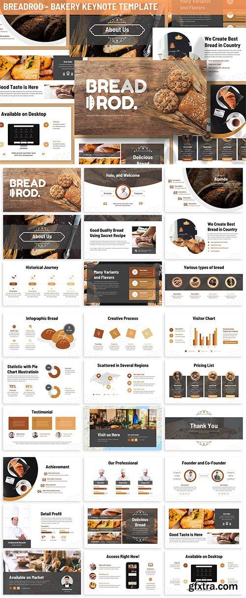 Breadrod - Bakery Keynote Template