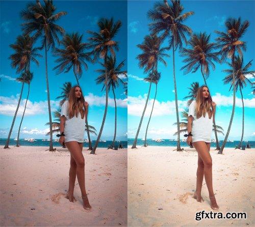 CreativeMarket - Summer Photoshop Actions 3846427