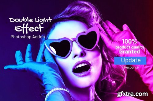 CreativeMarket - Double Light Effect 4099085