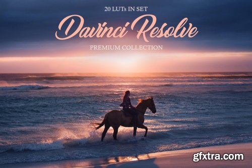CreativeMarket - Davinci Resolve LUTs 4165424