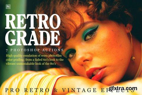CreativeMarket - Retrograde Retro and Vintage Effects 4140513