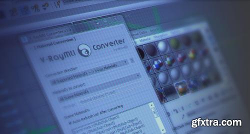 maxtools V-RayMtl Converter v3.97 for 3ds Max 2013 - 2020