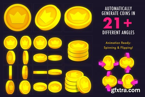 CreativeMarket - VOKR – Coins & Chips Factory 4084814