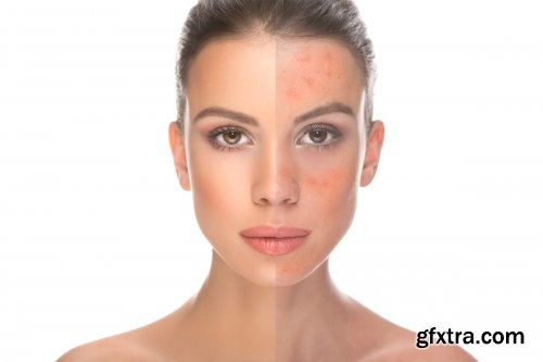 CreativeMarket - 50 Photoshop Actions Retouching Skin 4167869