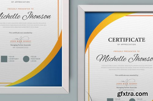 Certificate / Diploma Template Pro
