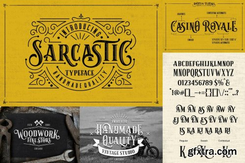 CreativeMarket - WOW Font Bundle! 4233959