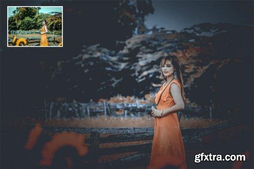 CreativeMarket - Soft Gray Color Effect 4233520