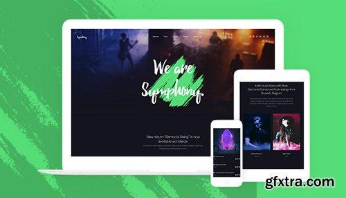 JoomlArt - JA Symphony v1.0.0 - Music & Band, Music Events Joomla Template