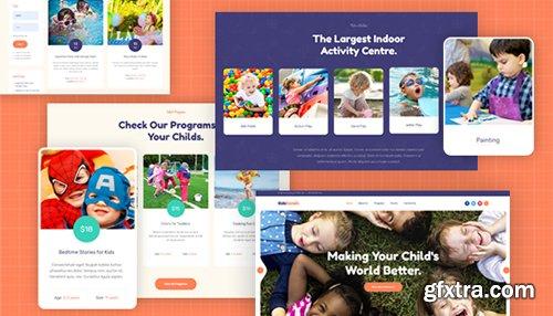 JoomlArt - JA Kids Corner v1.0.1 - Creative Joomla Template For Kindergarten, Kids Play Center Websites