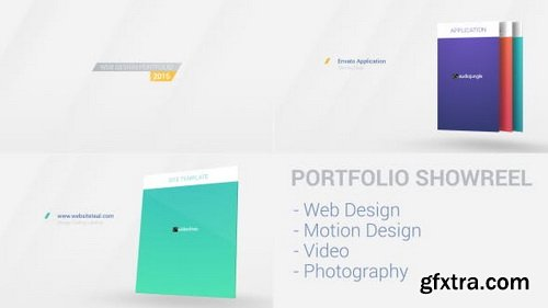 Videohive - Web Portfolio - 10016979