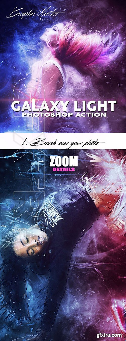 GraphicRiver - GALAXY LIGHT Photoshop Action 24669129