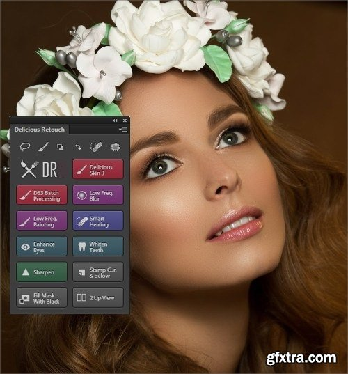 Delicious Retouch Panel v4.1.3 for Photoshop CC+