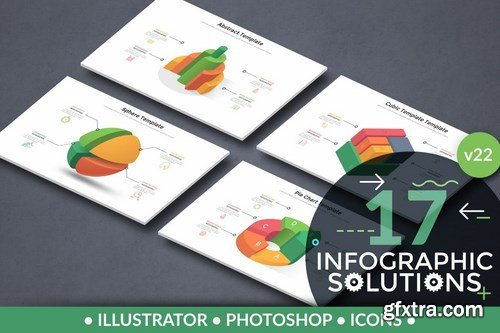 Infographic Solutions. Part 22