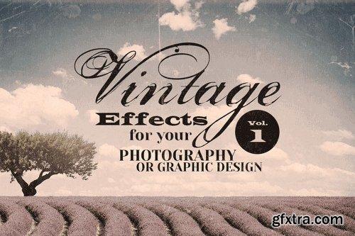 MightyDeals BUNDLE of 500+ Retro/Vintage Design Elements