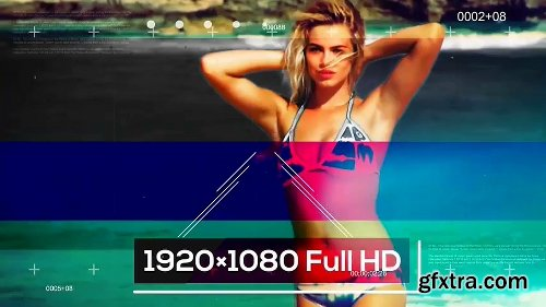 Fashionable Model Show After Effects Template