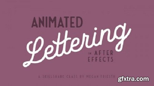 Animated Lettering in After Effects