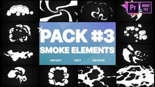 Videohive - Smoke Elements Pack 03   Premiere Pro MoGRT