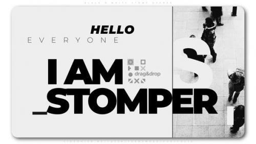Videohive - Black And White Stomp Opener