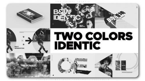 Videohive - Two Colors Identic
