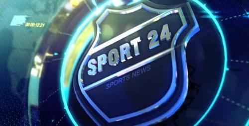Videohive - TV Broadcast Sports News Packages