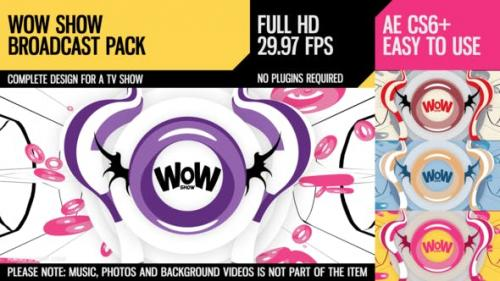 Videohive - WoW Show (Broadcast Pack)