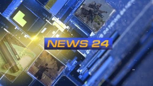 Videohive - News 24 Opener