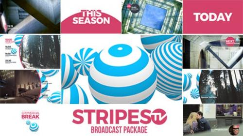 Videohive - Stripes tv Broadcast Package