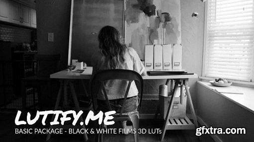 Lutify.me - Black & White films LUTs for Adobe Lightroom (Win/Mac)