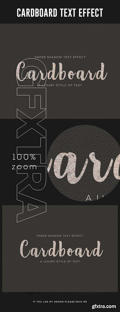 GraphicRiver - Cardboard Text Effect 24763834