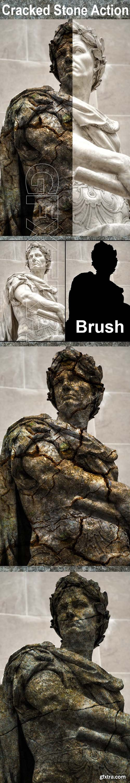 GraphicRiver - Cracked Stone Photoshop Action Vol 3 24670846
