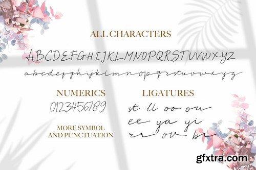 CM - Moriana - Handwritten Script Font 4273948-