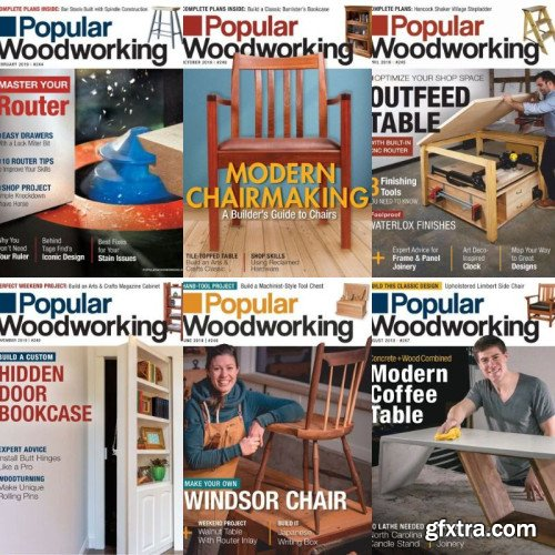 Popular Woodworking - Full Year 2019 Collection