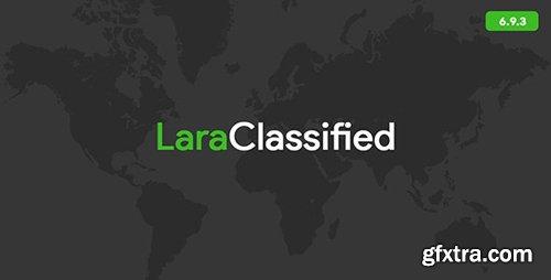 CodeCanyon - LaraClassified v6.9.3 - Classified Ads Web Application - 16458425
