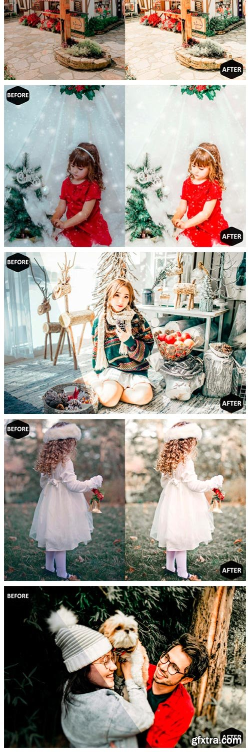 Christmas Photoshop Actions ACR Preset 1983660
