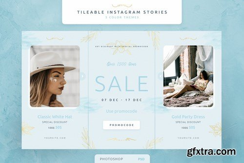 Tileable Instagram Stories