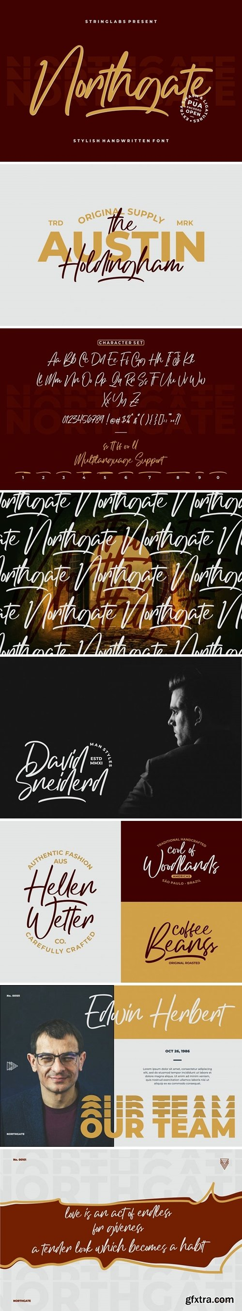 Fontbundles - Northgate - Stylish Handwritten Font 381663
