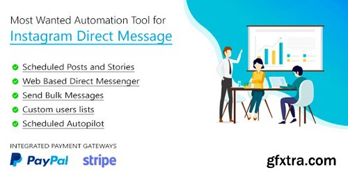 CodeCanyon - DM Pilot v2.0.4 - Most Wanted SaaS Automation Tool for Instagram Direct Message - 23624241