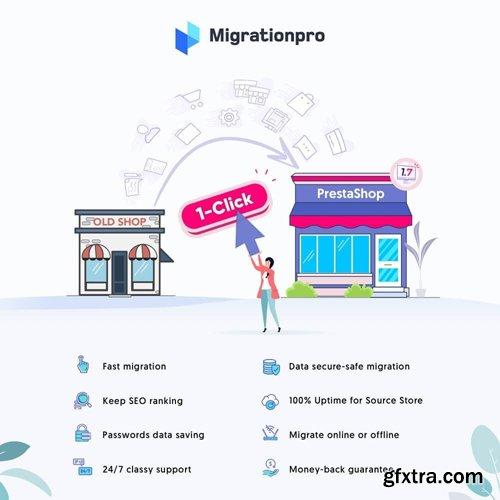 MigrationPro v6.0.8 - PrestaShop Upgrade and Migrate Tool Module