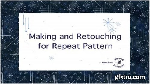 Retouch Your Handpainted Art: Preparing Your Art for Surface Design or Repeat Pattern on Your iPad