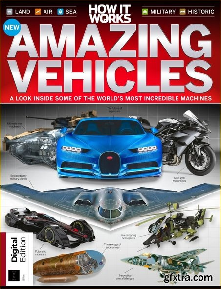 How It Works Book of Amazing Vehicles - 8th Edition 2019