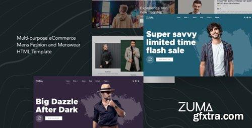 ThemeForest - Zuma v1.0 - eCommerce Men Fashion HTML Template - 24977610