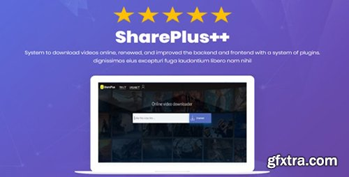 CodeCanyon - shareplus++ v1.1.3 - YouTube Video Downloader and more - 23033163